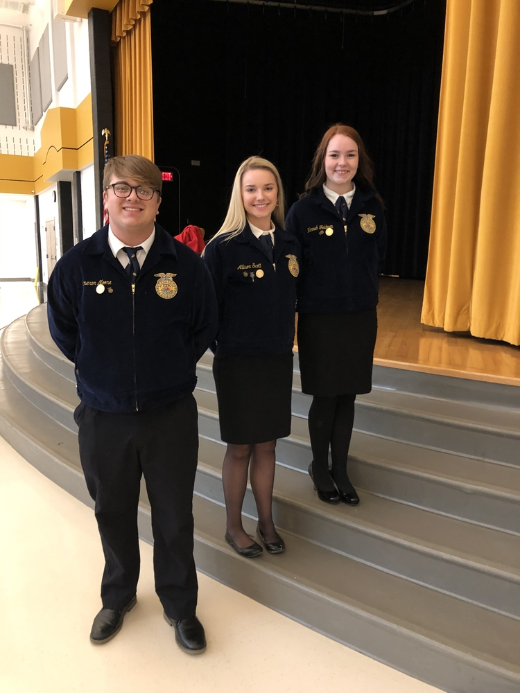 FFA District Public Speaking