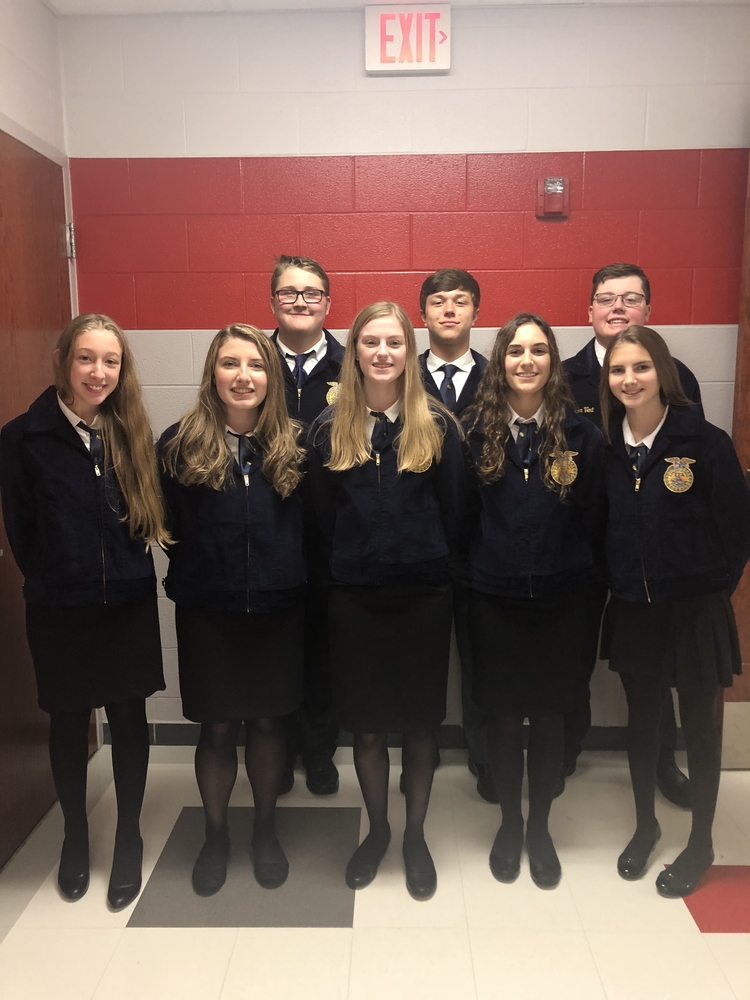 Novice Parliamentary Procedure team