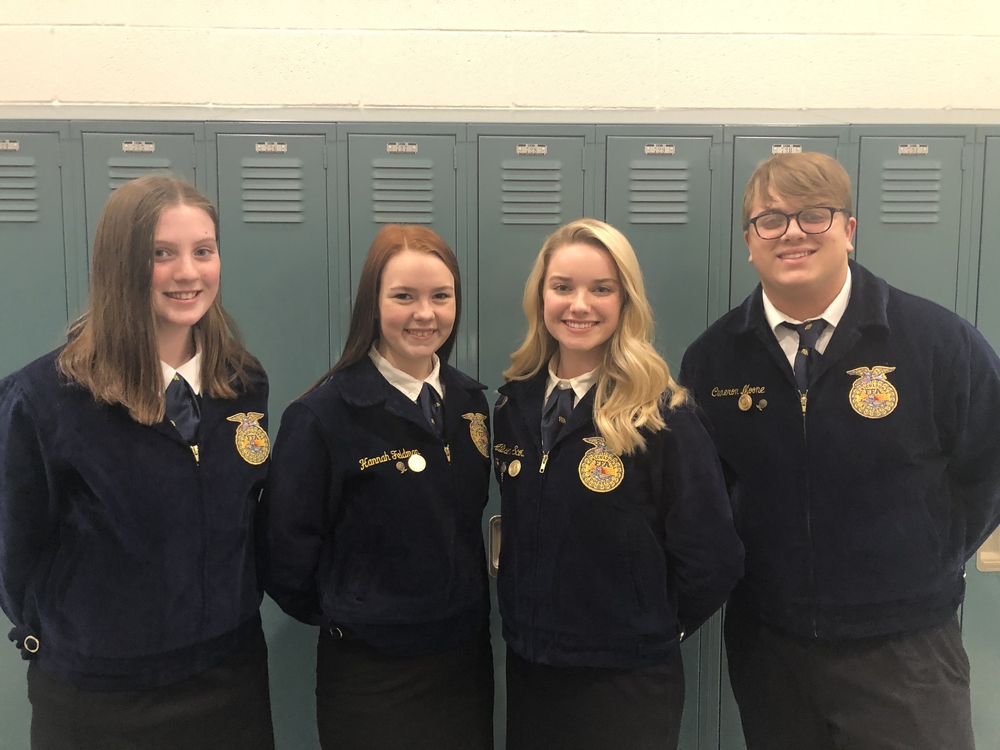 FFA sub district public speaking