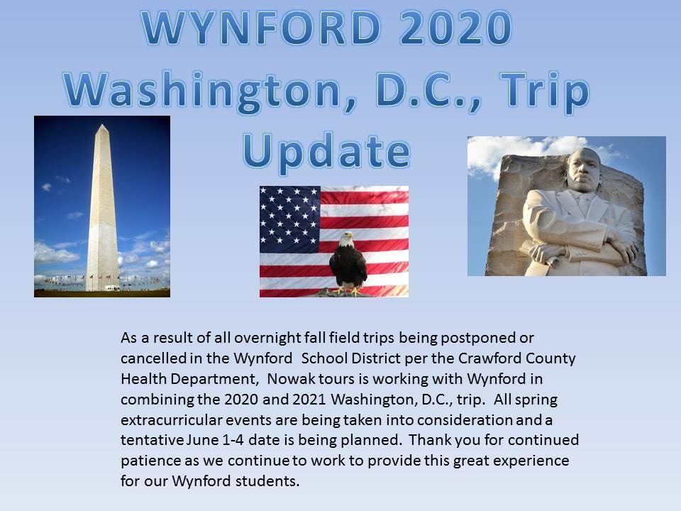 Wynford Washington, D.C., Update July 15