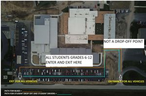 Wynford 6-12 Update Drop-off / Pick-up