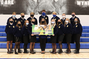 Wynford FFA receives America's Farmers Grow Communities Bayer Fund Donation