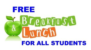 Free Lunch and Breakfast for ALL Students