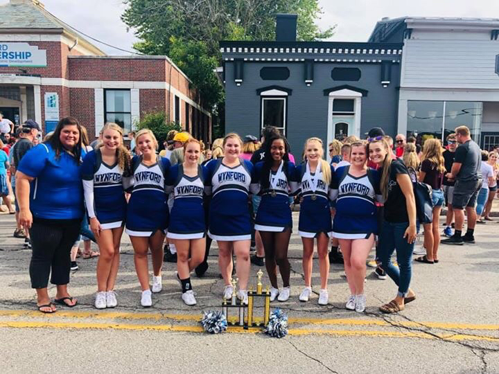 2019 Wynford Cheerleaders