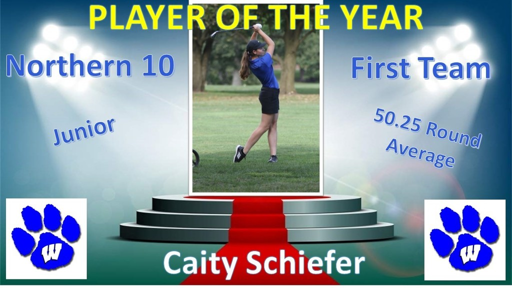 Caity Schiefer POY
