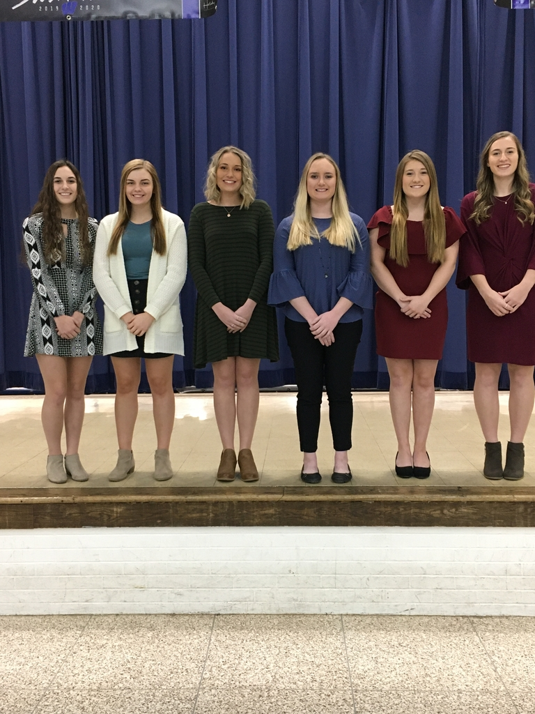 The Winter Homecoming Court