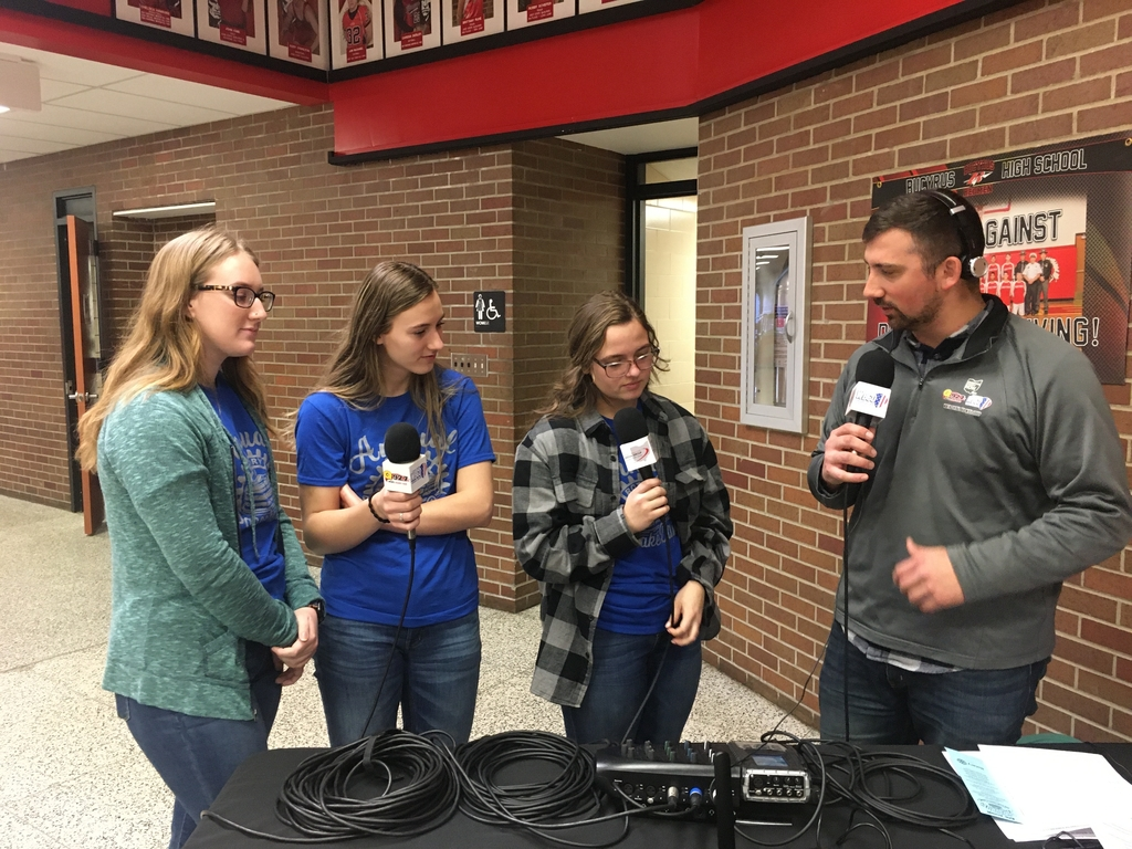 Interact officers live with James Massara on 92.7 WQEL.