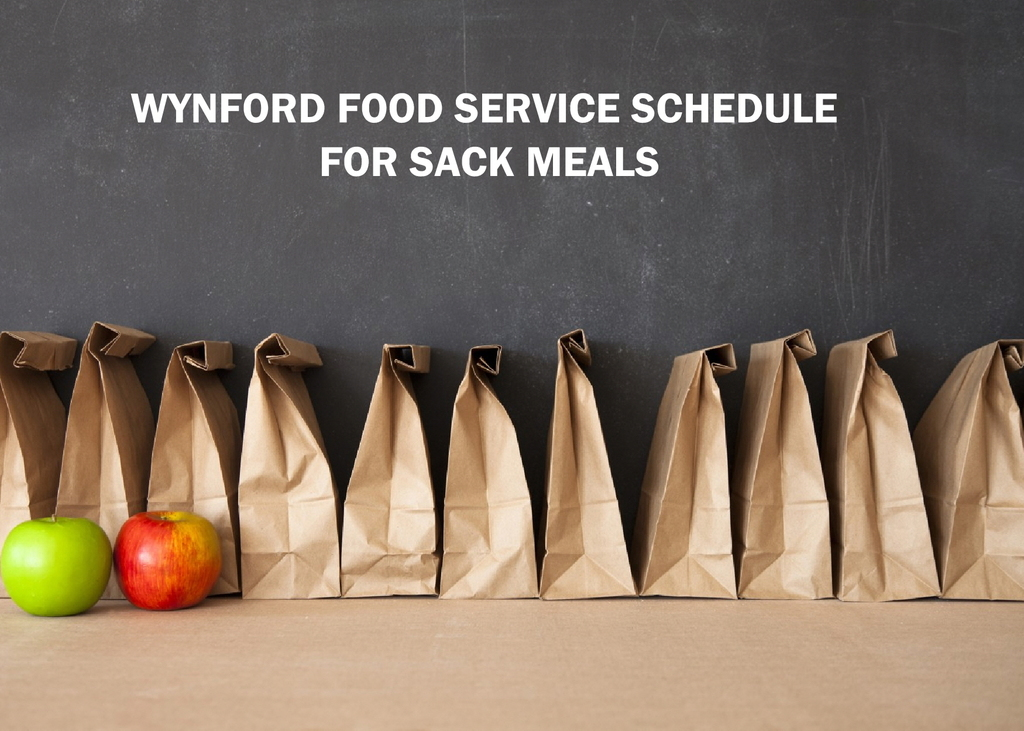 Sack Meal Schedule